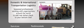 2008: Trangistics First Website